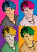 Retrato Pop Art - Andy Warhol